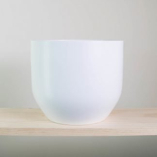 pure white pot, white plant pot, white planter