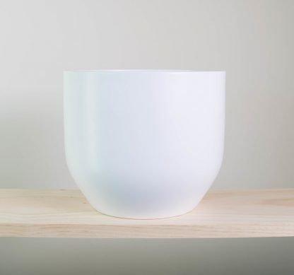 pure white pot, white plant pot, white planter
