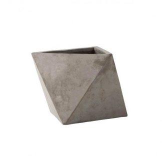 Concrete Geometric Plant Pot