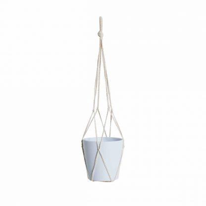 Ziggy Pot Hanger in Chalk