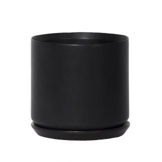 Black Oslo Planter Large