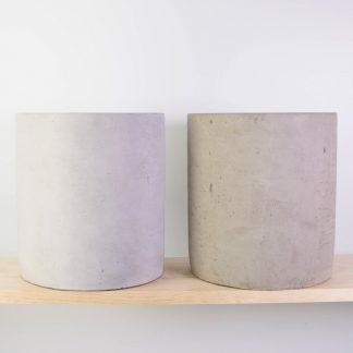 Concrete Plant Pot Large - Raw Concrete (RHS) or Grey Washed