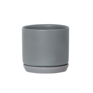 Grey Oslo Planter Medium