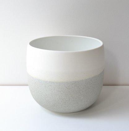 Renee Boyd Dusty Blue Speckle Pot (or Vase)