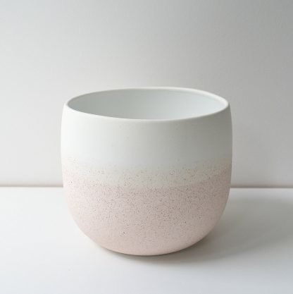 Renee Boyd Dusty Pink Speckle Pot (or Vase)