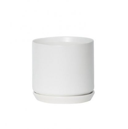 White Oslo Planter Medium