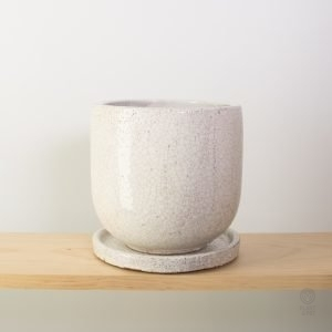 Crackle Pot 18cm diameter