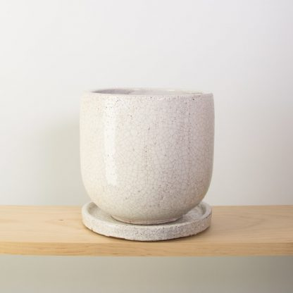 Crackle Pot 18cm diameter