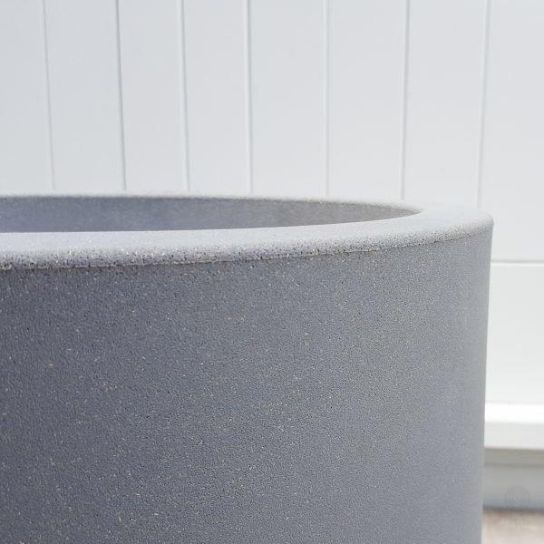 Allure Soft High Pot close up of texture