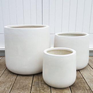 Bianca Cylinder Pot 41cm